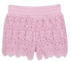 Design History Toddler's& Little Girl's Lace Shorts