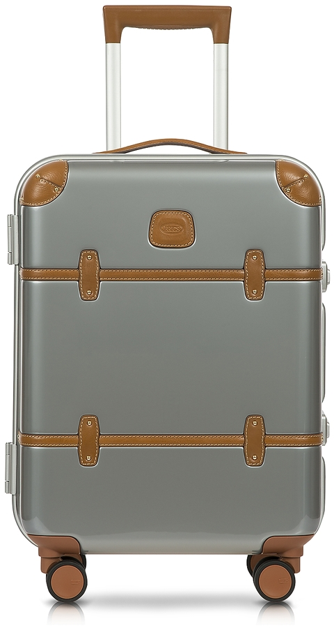 Bric's Bellagio Metallo V2.0 21′′ Silver Carry-On Spinner Trunk