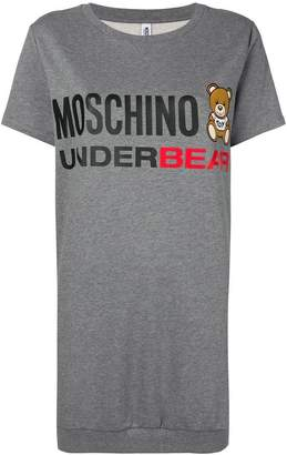 Moschino Underbear logo print T-shirt