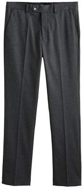 Mango man MANGO MAN Textured slim-fit suit trousers