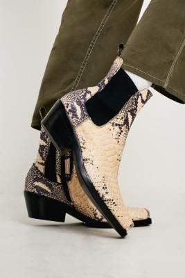 Jeffrey Campbell Poker Snake Boots - black UK 3 at Urban Outfitters