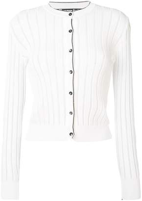 Pinko embroidered fitted cardigan