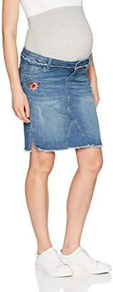 Mama Licious Mamalicious Women's Mlriga Slim Denim Abk B. Skirt,(Manufacturer Size: X-Large)