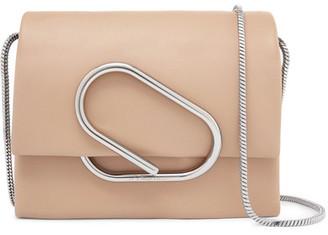 3.1 Phillip Lim - Alix Micro Leather Shoulder Bag - Sand $650 thestylecure.com