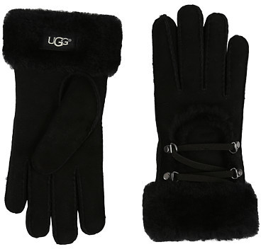 UGG UGG Lace Up Gloves