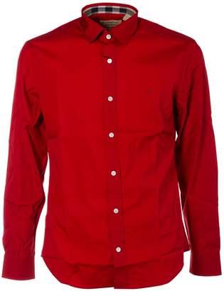 Burberry Check Detail Classic Shirt