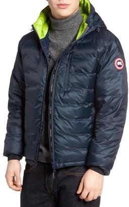 Men's Canada Goose 'Lodge' Slim Fit Packable Hoodie $550 thestylecure.com