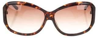 Oscar de la Renta Oscar by Oversize Gradient Sunglasses