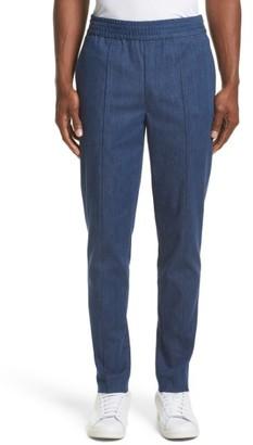 Men's Neil Barrett Denim Skinny Track Pants $530 thestylecure.com
