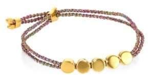 Monica Vinader Linear Bead Friendship Bracelet/Rainbow