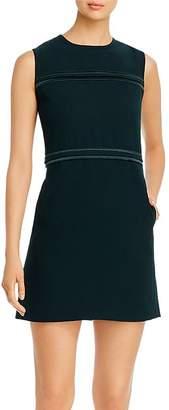 Donna Karan Piped Mini Dress