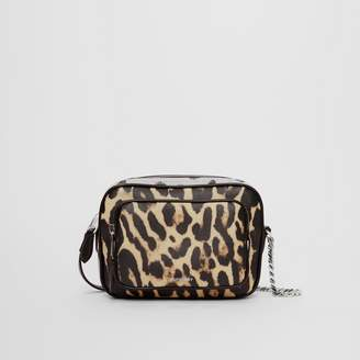 Burberry Animal Print Leather Camera Bag