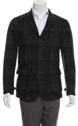 Etro Plaid Wool Jacket
