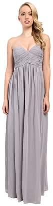 Donna Morgan Laura Long Chiffon Gown Dress Women's Dress