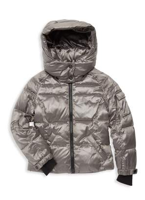S13 S 13/Nyc Little Girl's Quilted Down Jacket