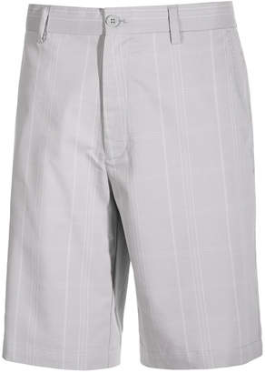 Greg Norman for Tasso Elba Men's Big & Tall Plaid Golf Shorts, Created for Macy's $65 thestylecure.com
