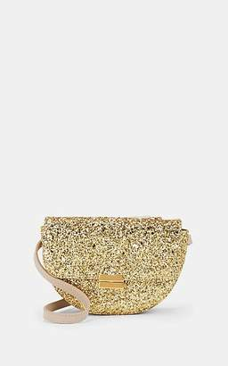 Wandler Women's Anna Small Glitter Leather Belt Bag - Gold