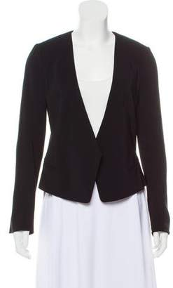 Rebecca Taylor Open Front Long Sleeve Jacket
