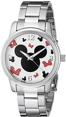 Disney Unisex W002339 Mickey & Minnie Mouse -Tone Watch