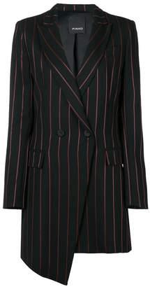 Pinko Moris pinstripe asymmetric blazer