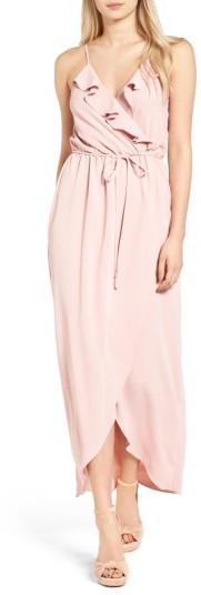 Women's Everly Ruffle Wrap Maxi Dress