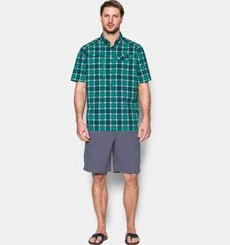 Under Armour Men's UA Fish Hunter Plaid Short Sleeve