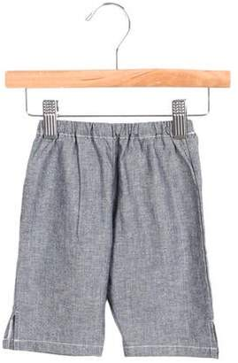 Makie Boys' Chambray Straight-Leg Pants