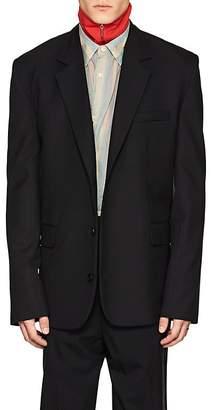 Martine Rose Men's Wool Oversized Three-Button Sportcoat
