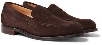 Cheaney Hadley Suede Penny Loafers