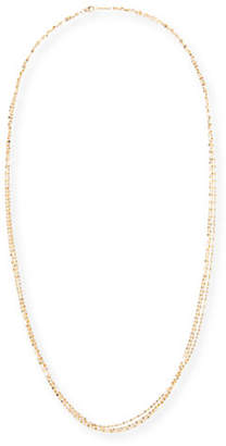 "Lana Blake Three-Strand Chain Necklace in 14K Gold, 30""L"