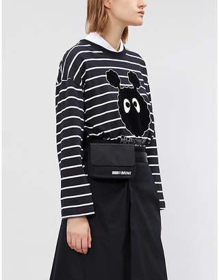 Mini Cream Graphic-motif cotton-jersey T-shirt