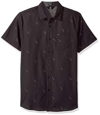 Volcom Men's Floyd Button Up Short Sleeve Shirt