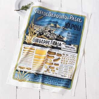 """Sur La Table Vintage-Label Italian Pasta Kitchen Towel, 30"""" x 22"""""""