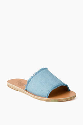 Ancient Greek Sandals Light Denim Taygete Sandals