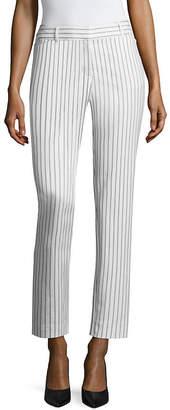 Liz Claiborne Classic Fit Double Cotton Emma Ankle Pant