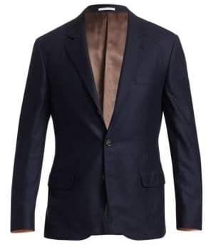 Brunello Cucinelli Cashmere& Silk Blazer