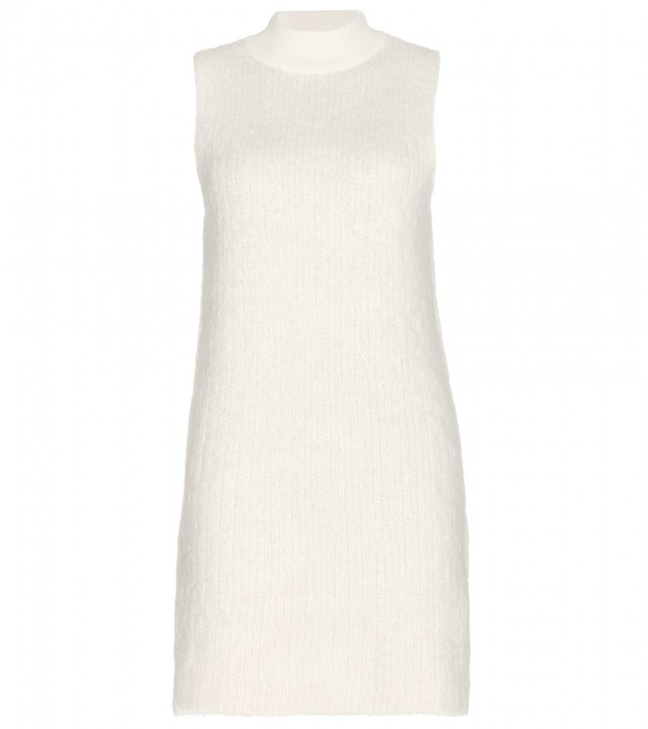 Edun Alpaca wool-blend dress