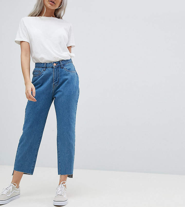 Noisy May Petite – Jeans mit geradem Bein