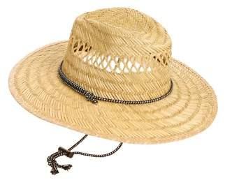b1994550252 George Men s Straw Lifeguard Hat