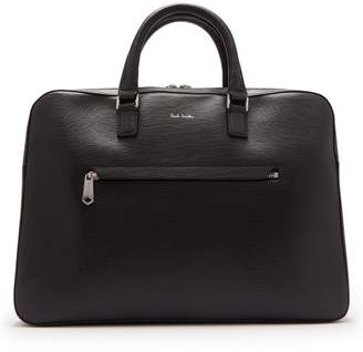 Paul Smith Leather Briefcase - Mens - Black