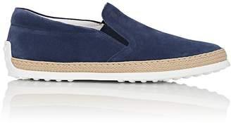 Tod's Men's Pantofola Suede Espadrille Sneakers