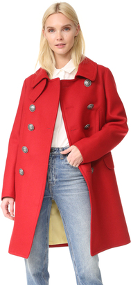 DSQUARED2 Military Double Breasted Coat $1,695 thestylecure.com