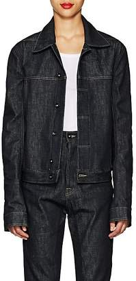 Rick Owens Women's Denim Worker Jacket - Raw