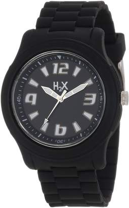 Haurex H2X Women's SN381XN1 Splash Luminous Water Resistant Soft Rubber Watch