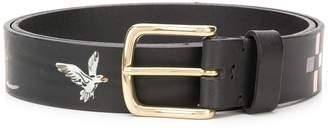 Nick Fouquet safari hand painted belt