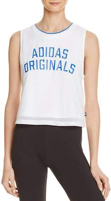 adidas Originals Crop Tank $45 thestylecure.com