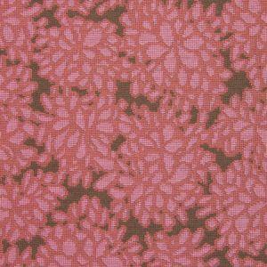 Merida Meridian Geometric Florals Hydrangea Red Star Modern Modern Rug