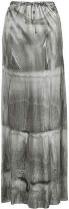 Masnada dégradé maxi skirt