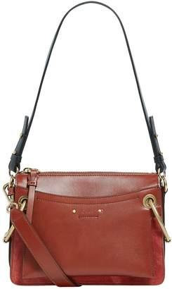 Chloé Small Leather Roy Shoulder Bag