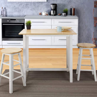 Sigrid August Grove 3 Piece Counter Height Pub Table Set